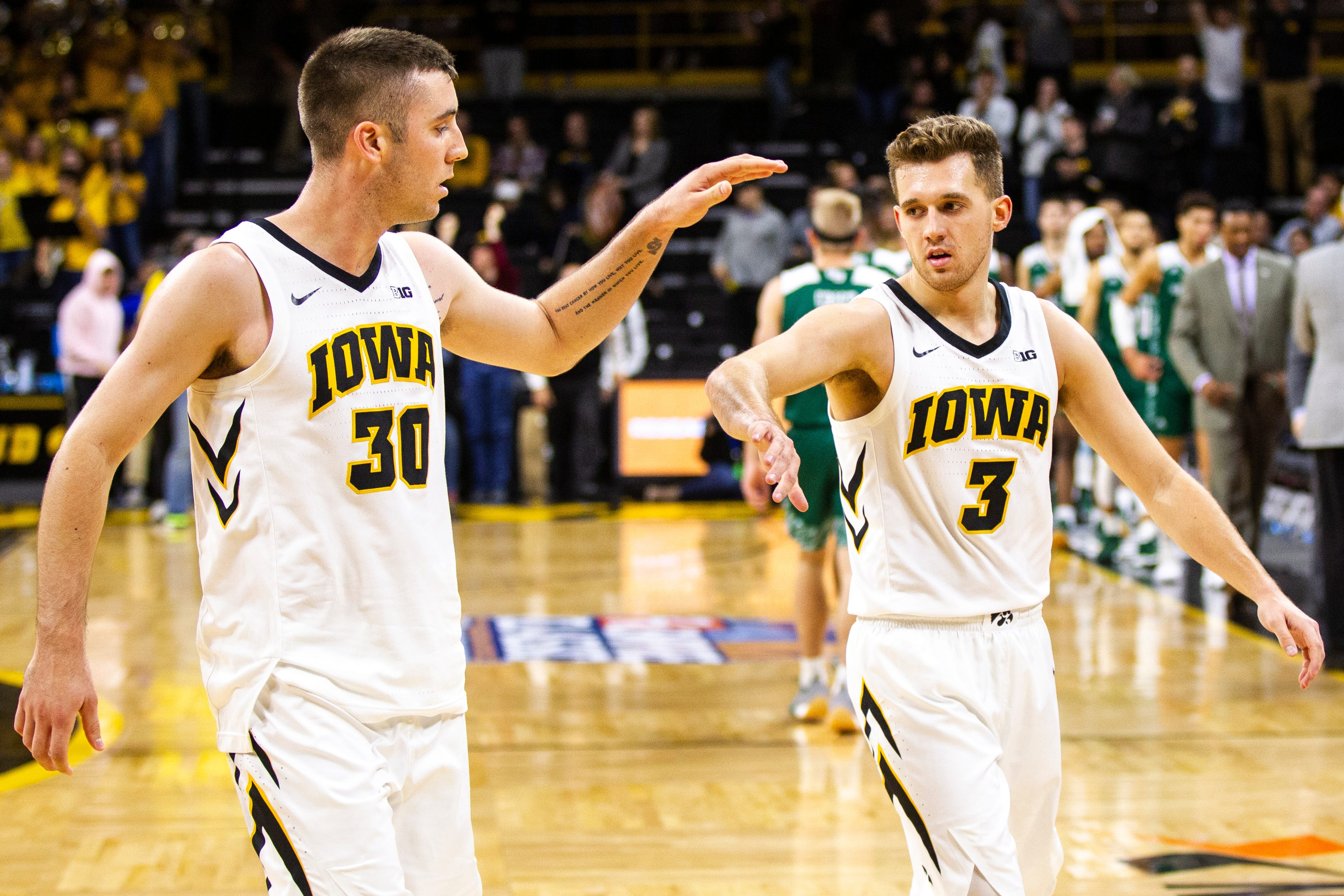 iowa basketball: hawkeyes face oregon as they open defining stretch