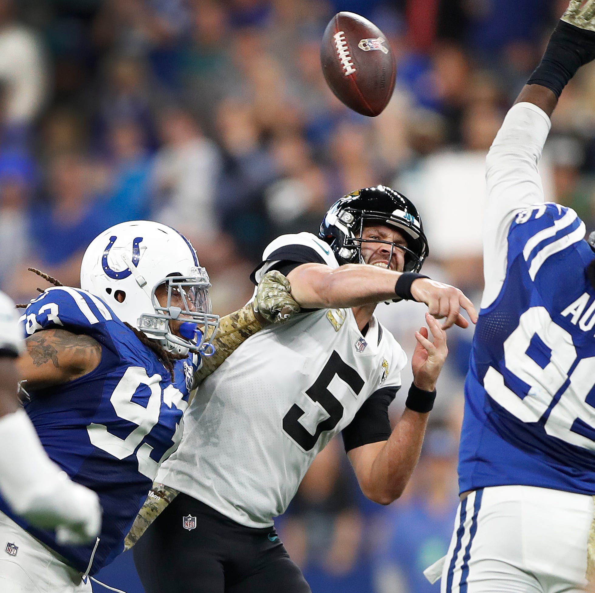 Insider: Colts pass rushers aren't making excuses, know they need to start getting sacks