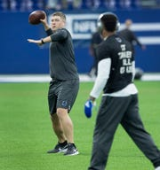 """If Colts coach Frank Reich needs to bounce something off someone, Parks Frazier is """"the first person I go to,"""" Reich says. """"No matter what it's about. I just think that much of him."""""""