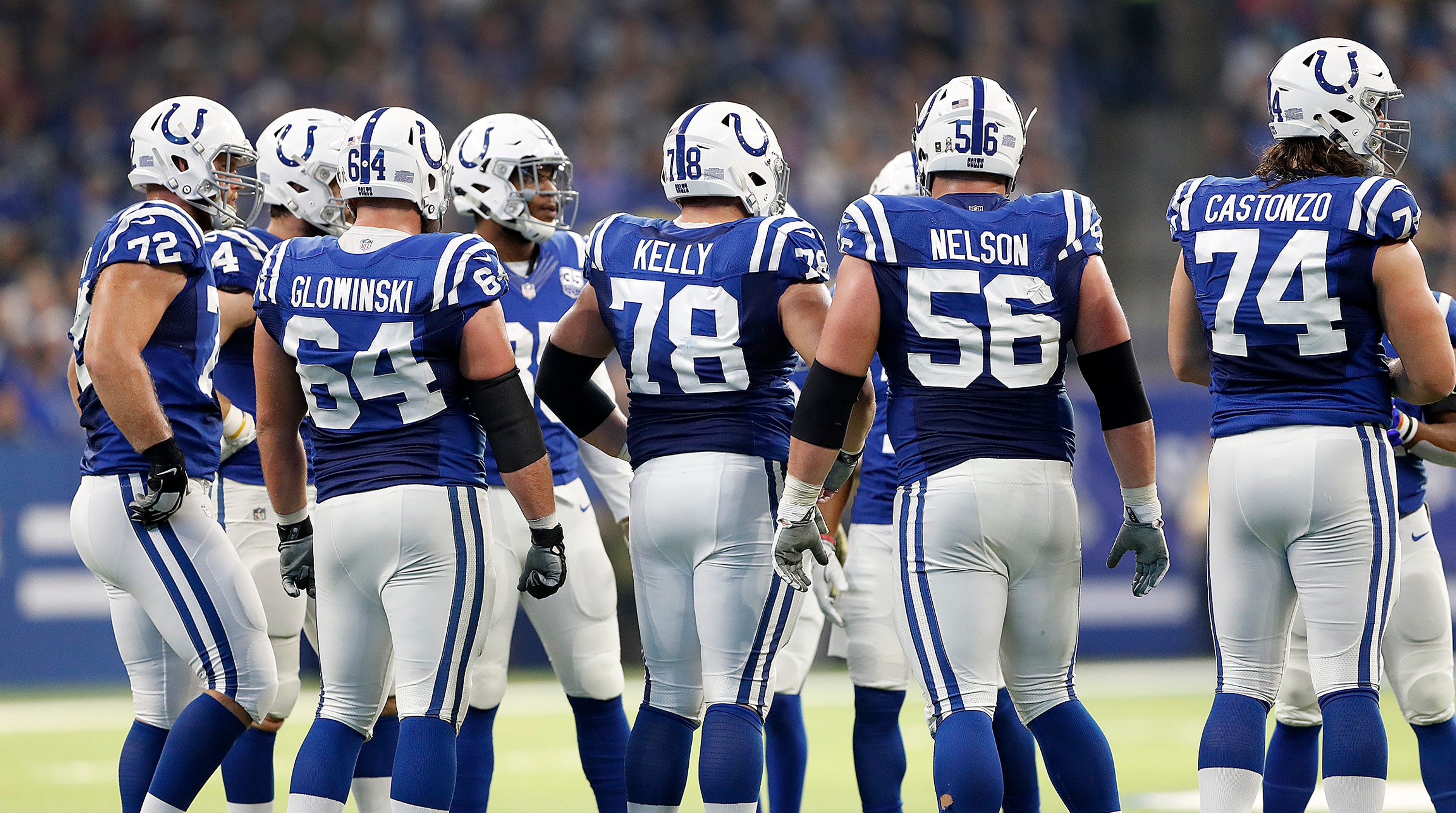 Image result for colts offensive line