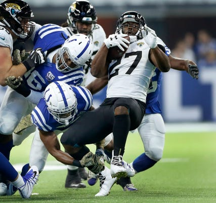 Indianapolis Colts Play The Jacksonville Jaguars