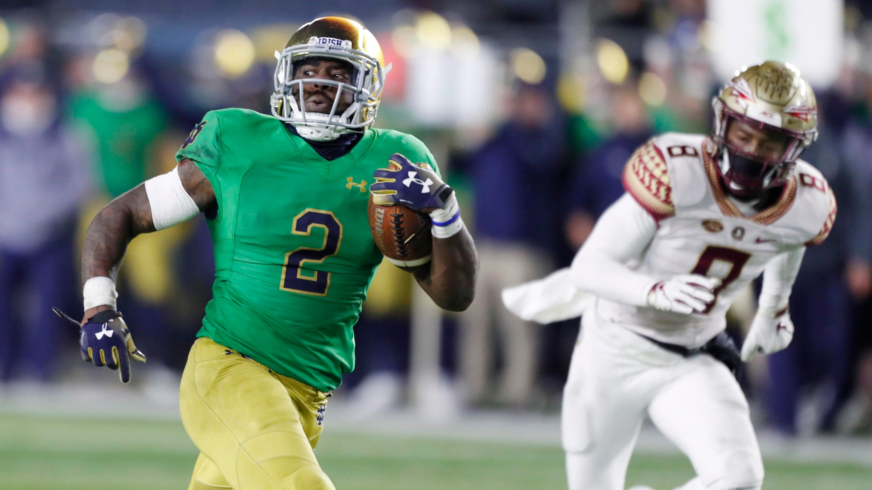 Buzzer breakdown  Notre Dame rolls to 42-13 win over Florida State on  senior night 34090de83