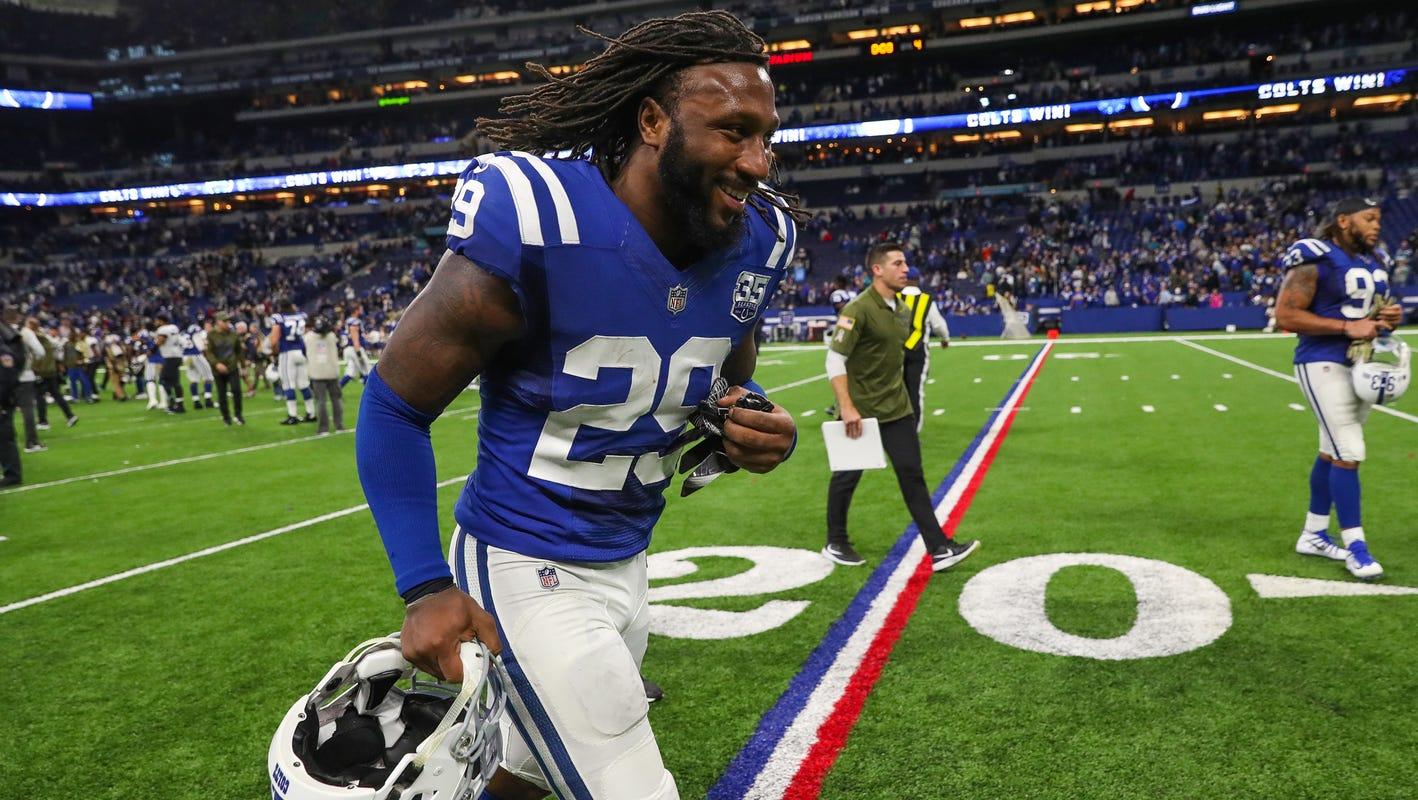 sports shoes 062a9 b2f03 The complicated sophomore season of Colts safety Malik Hooker