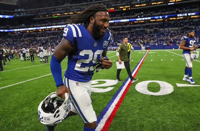"""I'm doing my job, staying patient, and waiting for an opportunity to come,"" Colts safety Malik Hooker says."