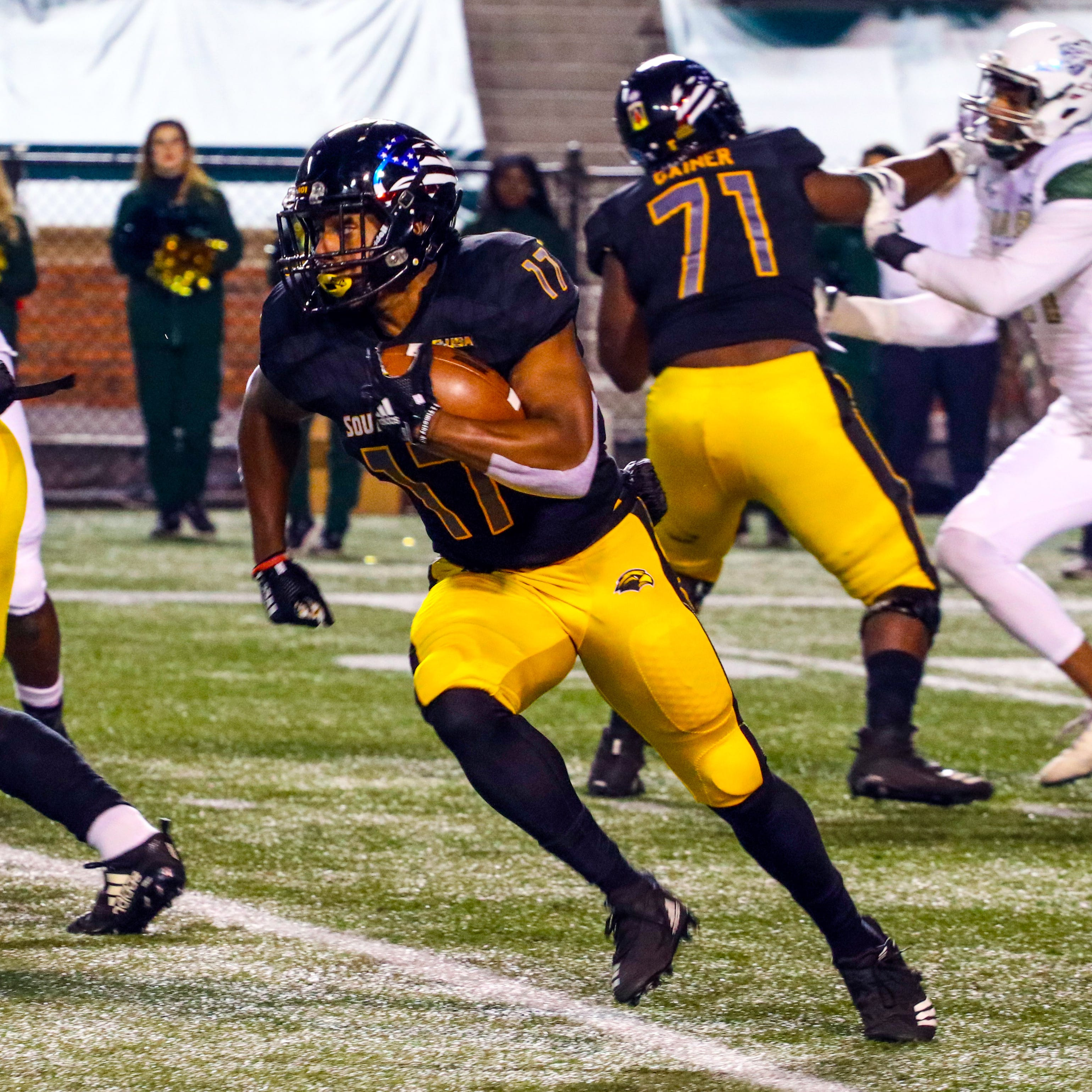 Finally healthy, Darius Maberry could play a bigger role for USM in final two games
