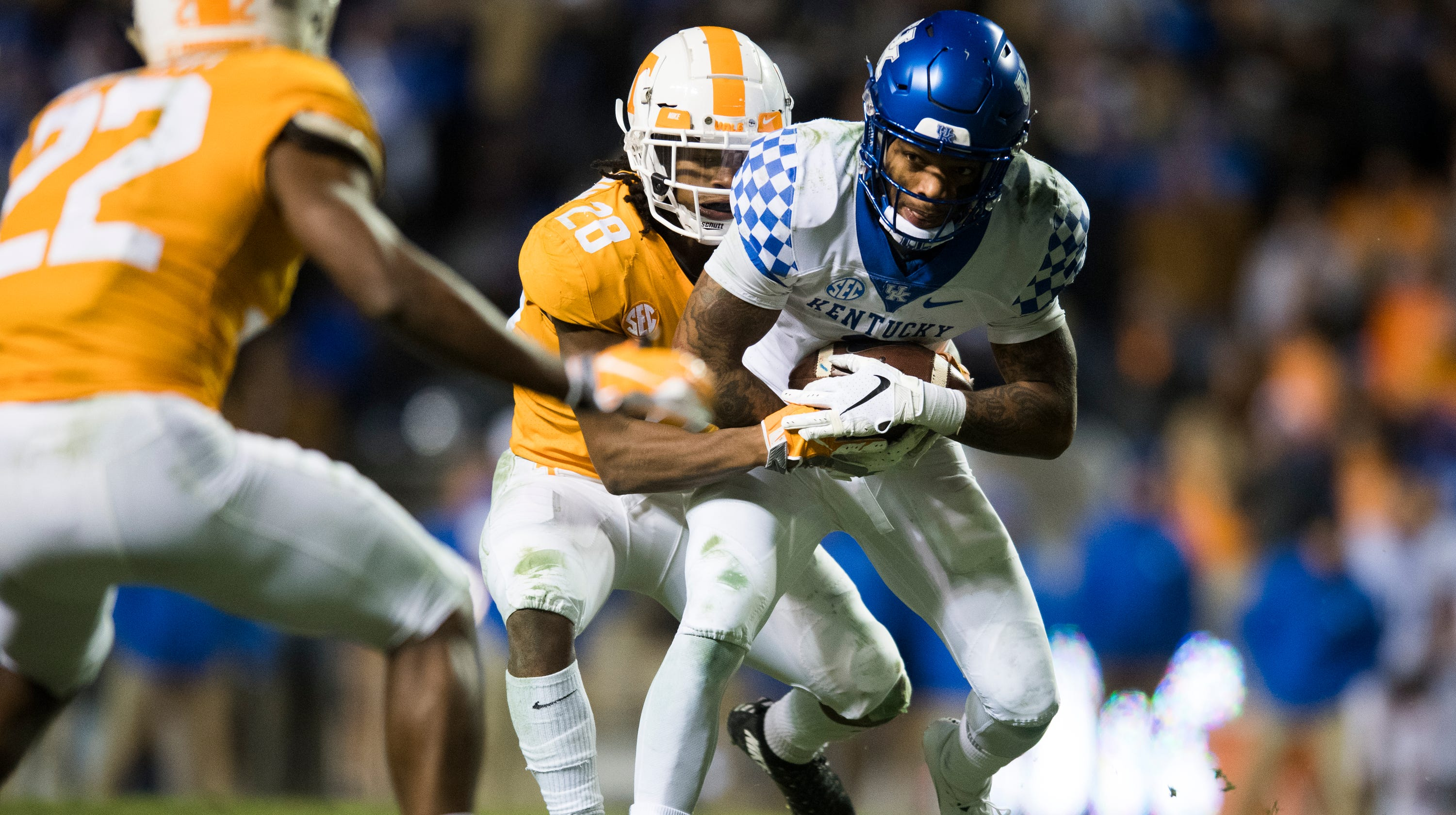 Tennessee football: Baylen Buchanan out with spine issue