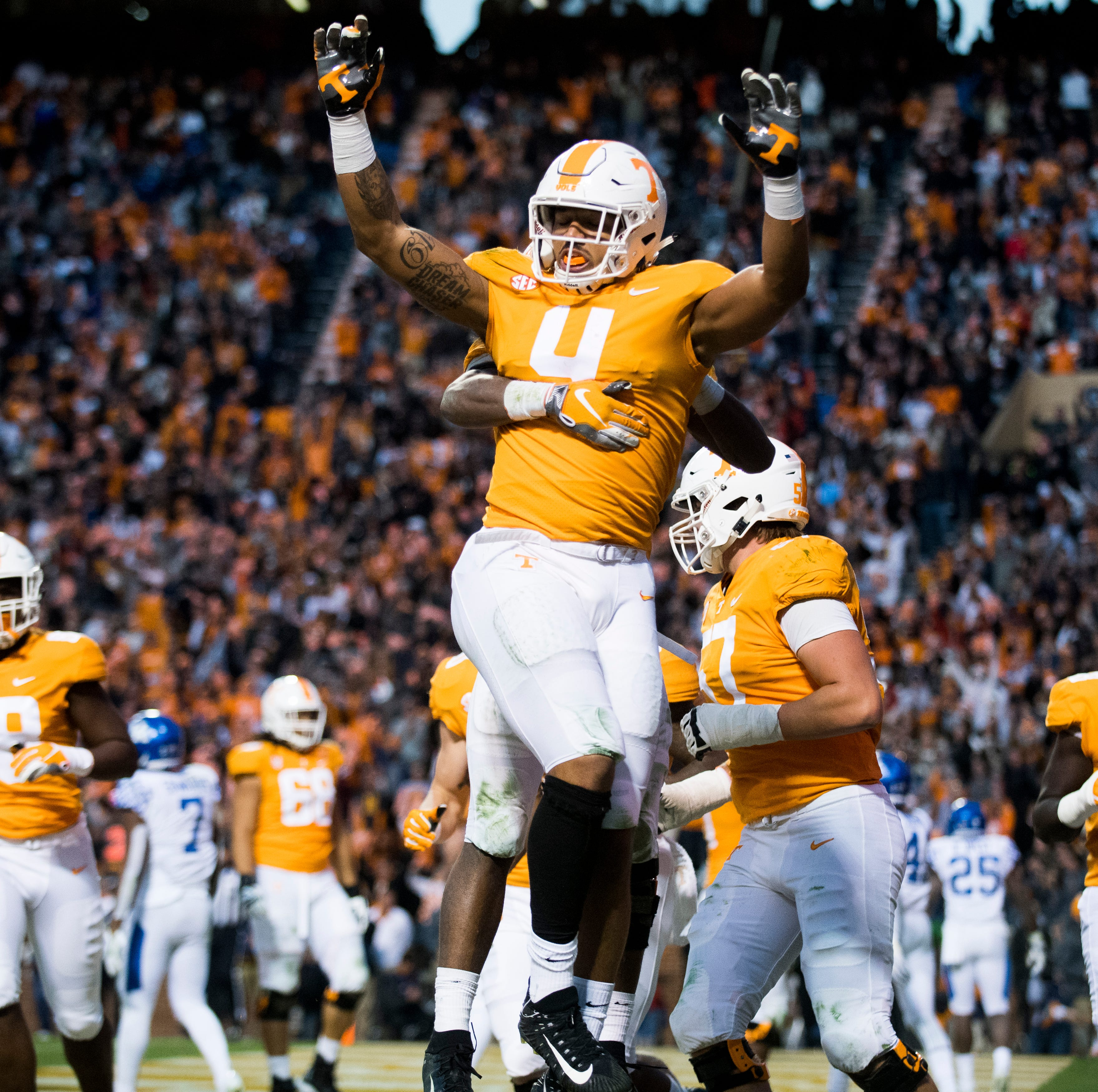 The Vols got by with a little help from their friend