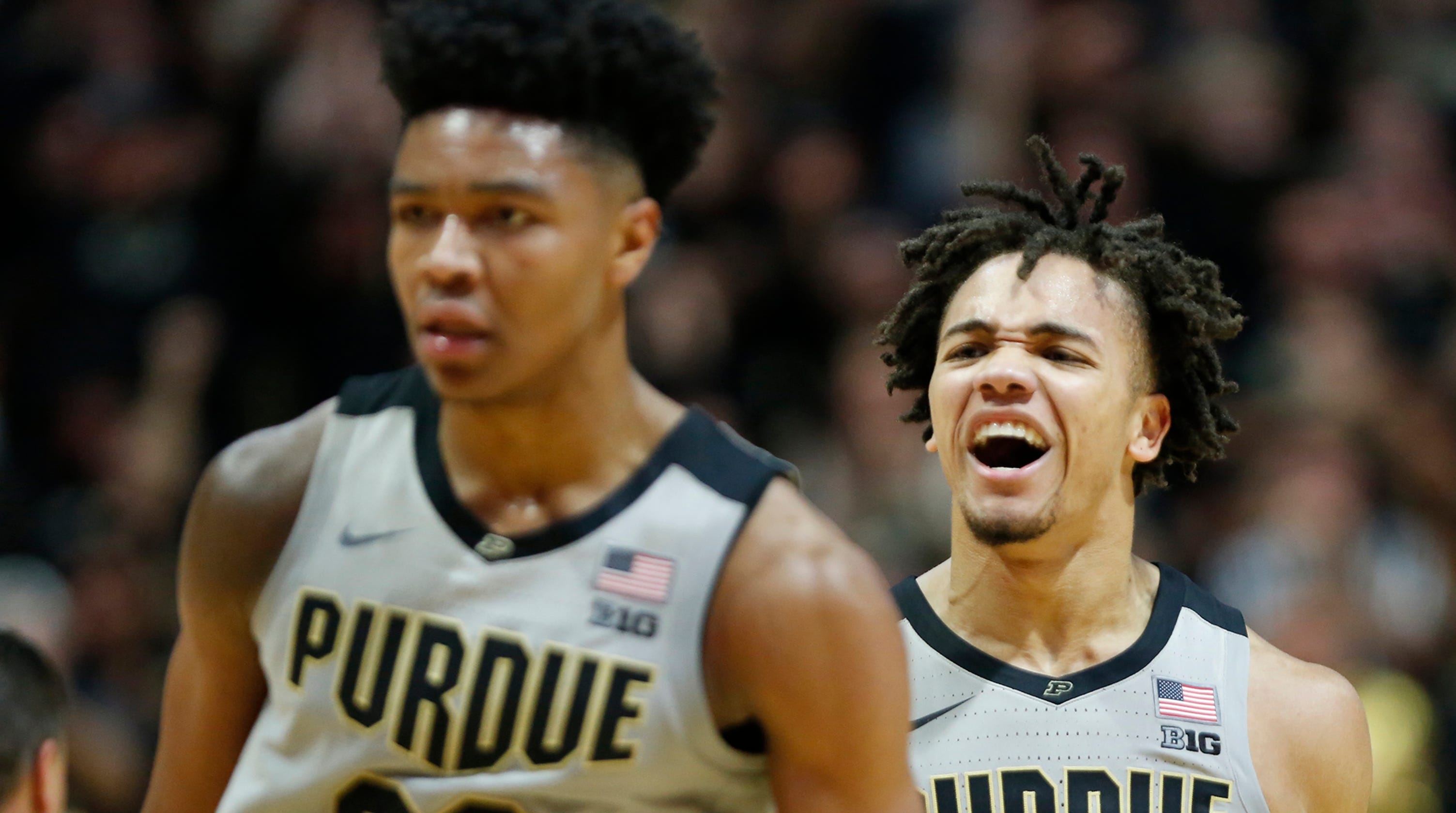 Carsen Edwards, supporting cast lead Purdue basketball past Ball State