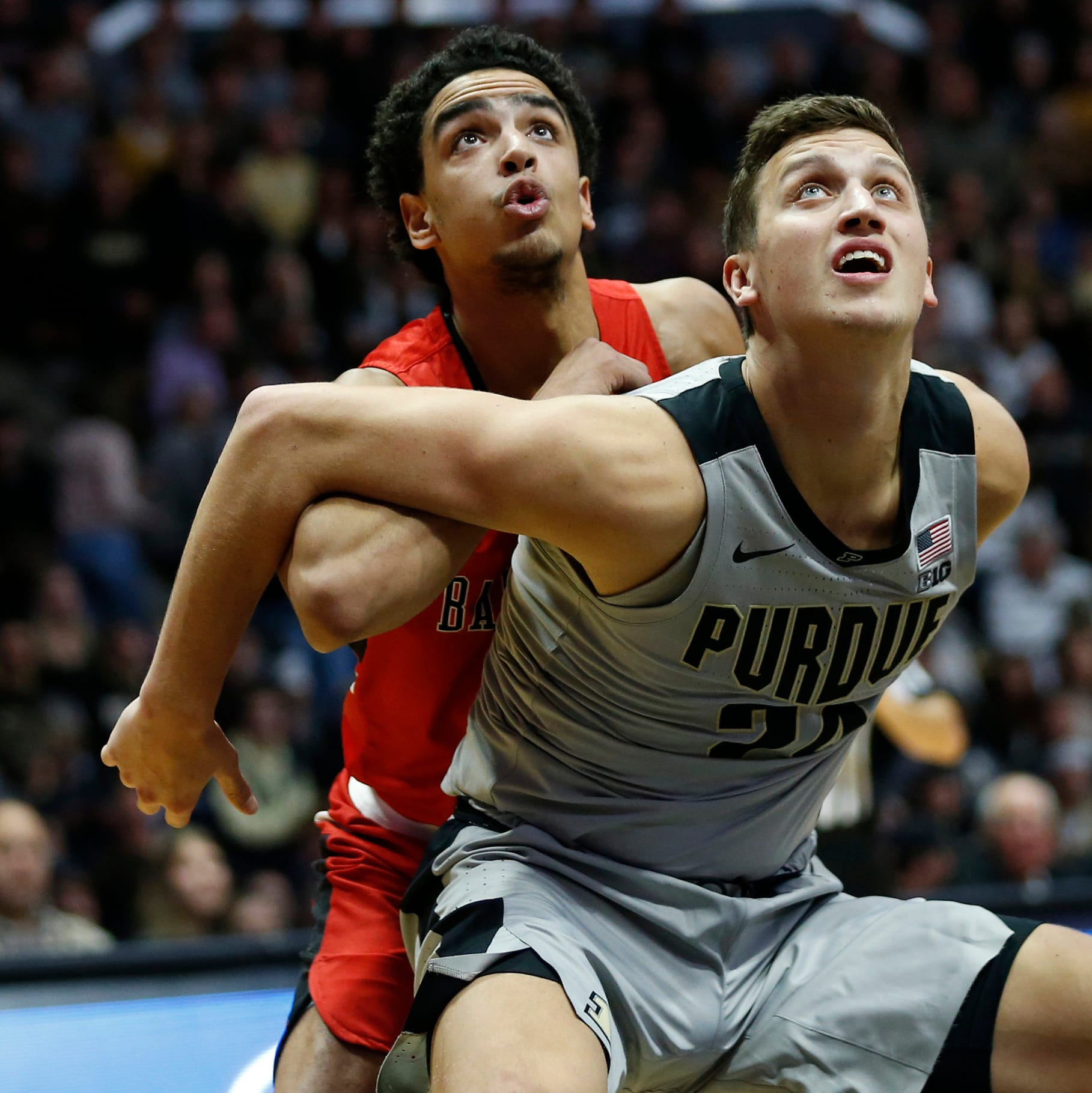 Purdue basketball quickly establishing dominant identity on the offensive boards