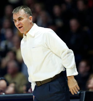 James Whitford, shown here earlier this season against Purdue, coached Ball State to a win over Toledo on Friday to open MAC play.