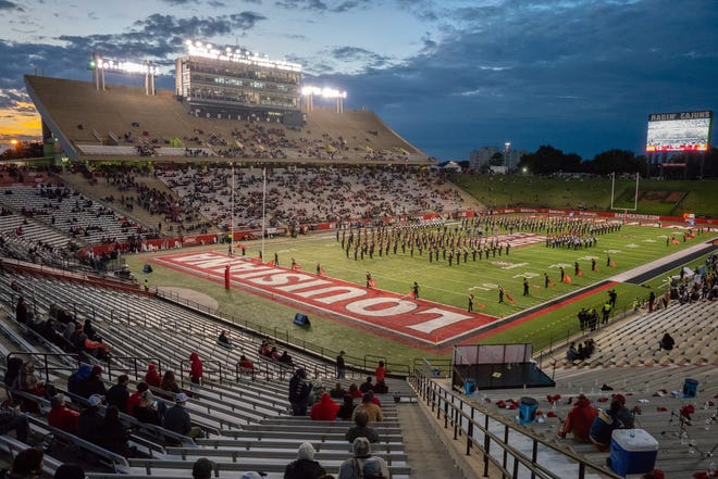 The crowd at Cajun Field was sparse for UL's win over Georgia State Nov. 10.