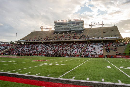 The Ragin' Cajuns plan $45-to-$65 million worth of renovation work at Cajun Field, including a makeover on this side of the stadium.