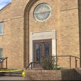 Man shot at Crowley double funeral