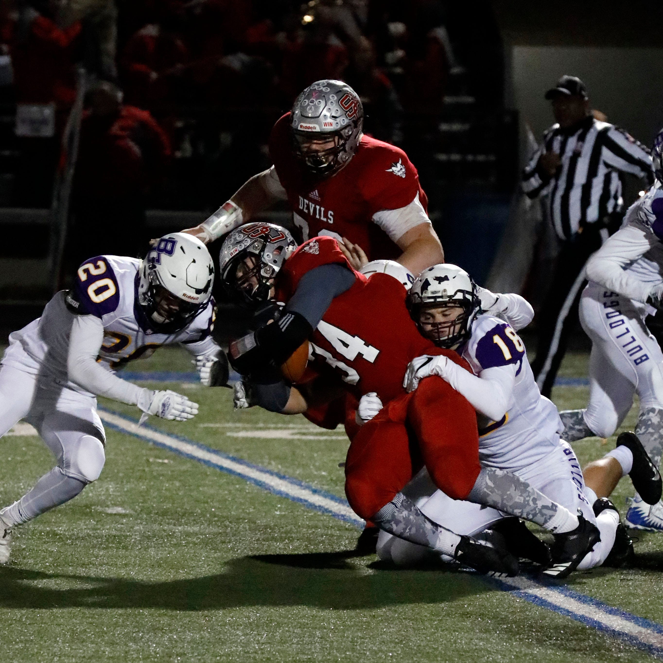 Bloom-Carroll has no answer for Red Devils' Kolb in playoff loss
