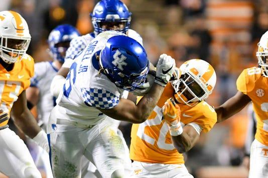 Ncaa Football Kentucky At Tennessee