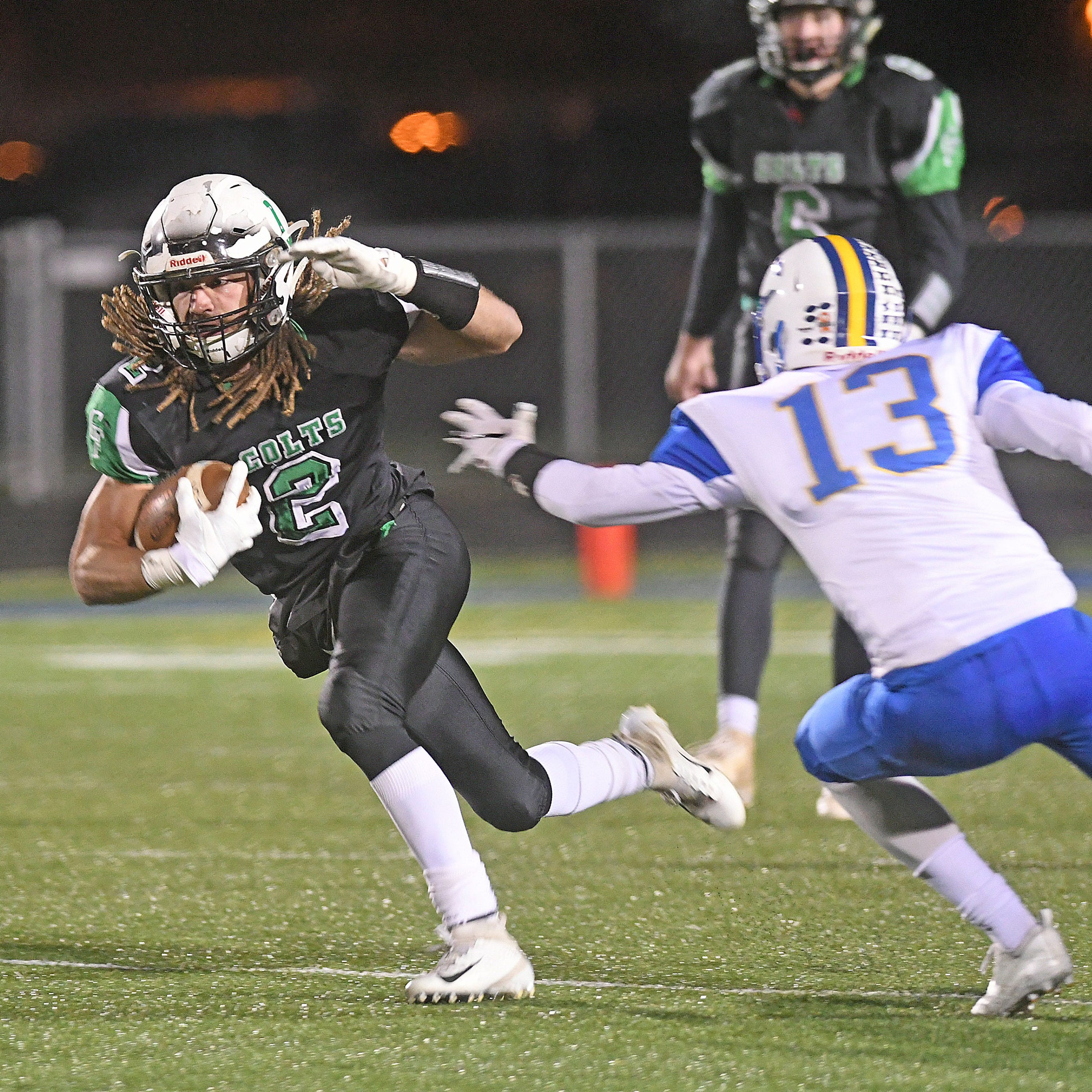 Clear Fork's Trevon Trammell leads Colts to regional final