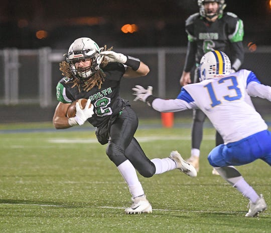 Trevon Tramell was one of Clear Fork's biggest weapons as the Colts put together their second straight 10-0 regular season and made it to the regional finals for the first time in school history.
