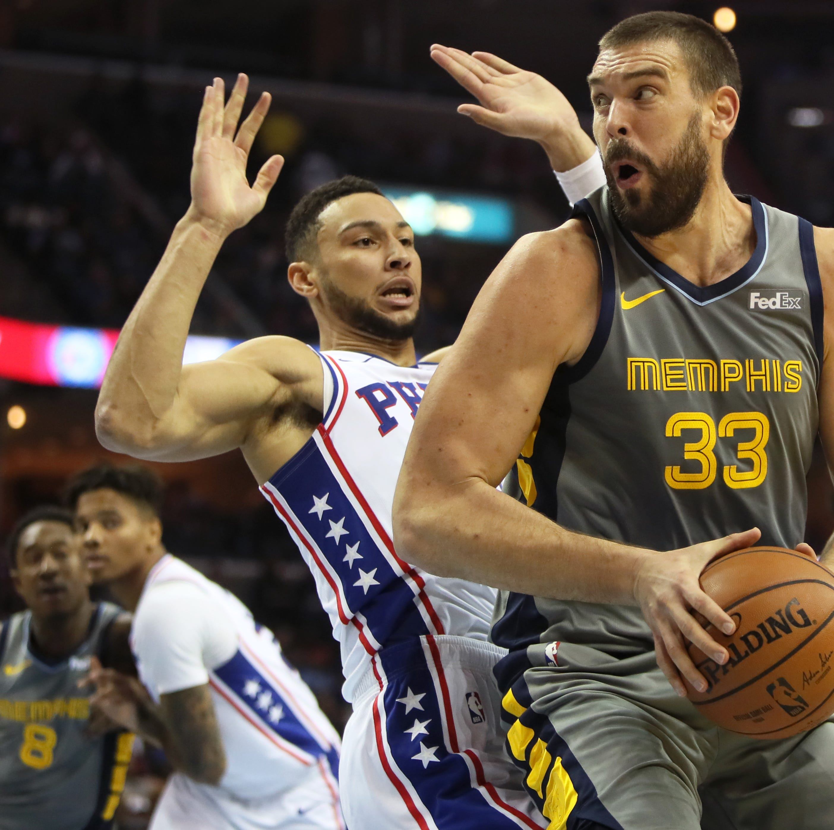 Grizzlies: Observations from dramatic 'wrestling night' win over Philadelphia 76ers