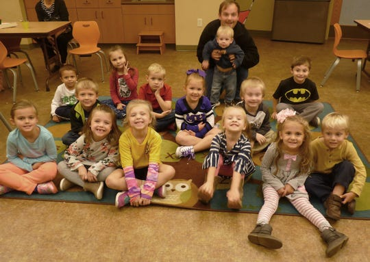 The Baxter County Library recently celebrated 14 children who complete the 1000 Books Before Kindergarten program. There are currently 420 enrolled in the program, which prepares pre-schoolers to read, is provided at no charge. Pictured are: (first row, from left) Danica Kasinger, Kendall Tate, Emma Cambell, Waverly Morrell, Kaylin Teegarden, Grant Teegarden, (second row) Joseph Bratton, Hunter Davis, Eve Claxton, Sawyer Bounds, Zooey Southerland, Elijah Sewell, Zealand Phillips and Liam McLean.