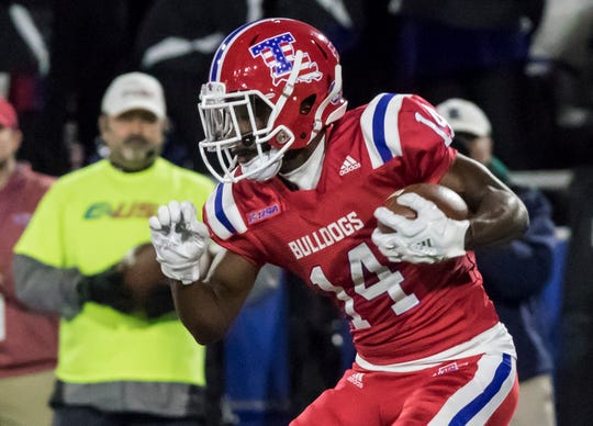 """Walking down the street, they see you from afar and go across the street to walk on the other sidewalk. That makes me feel horrible as a person. What did I do to you to deserve that?"" said Praise Okorie, a Louisiana Tech football player."