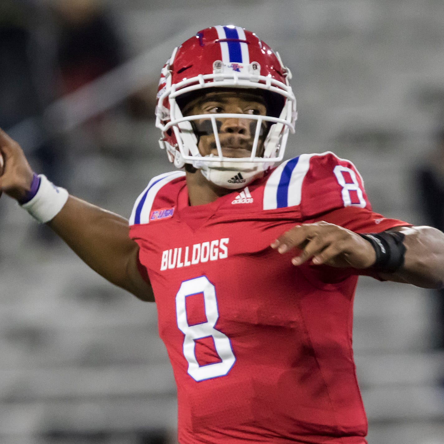 Louisiana Tech's Skip Holtz wants to see more from QB J'Mar Smith
