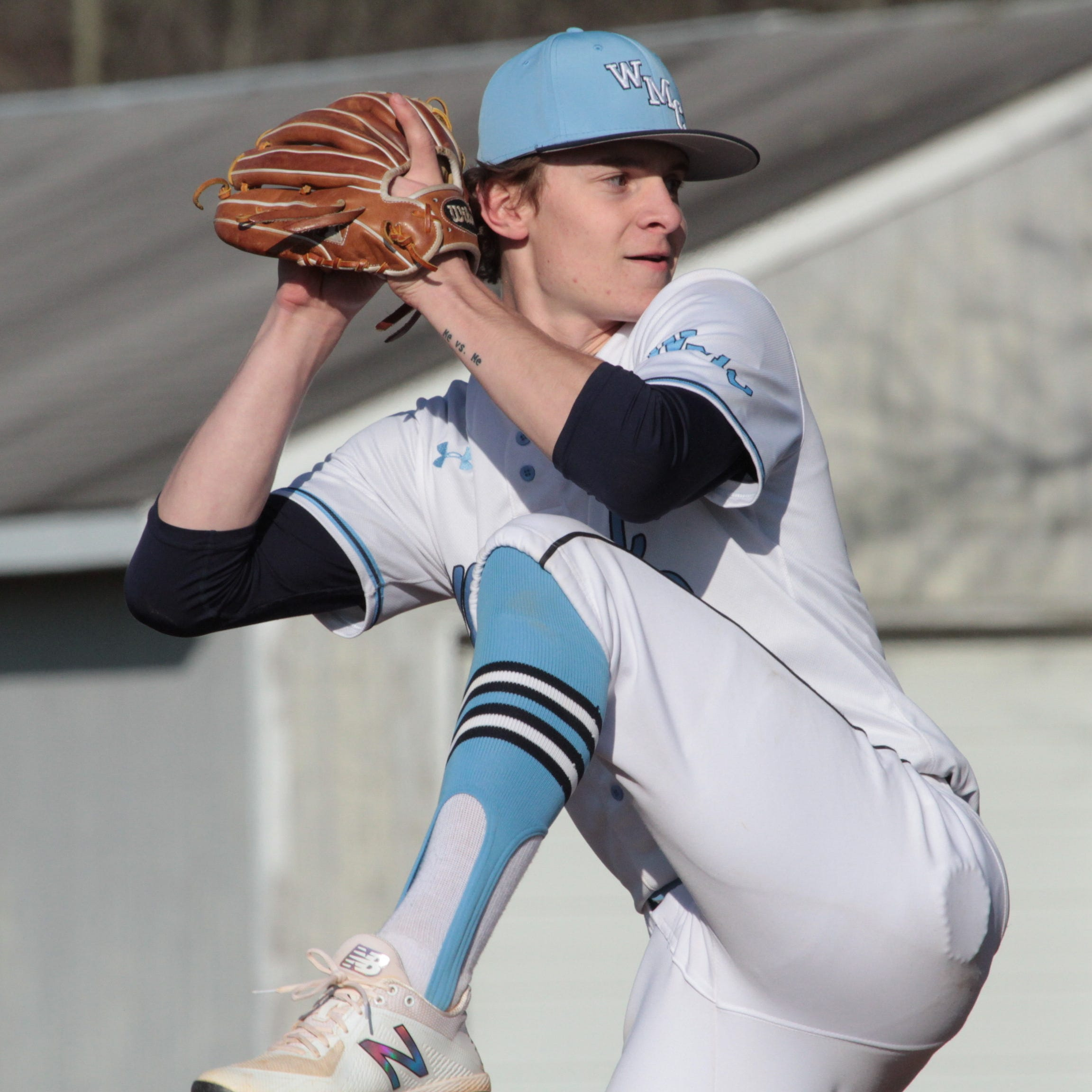 Tourette syndrome no barrier for 'relentless' West Morris pitcher