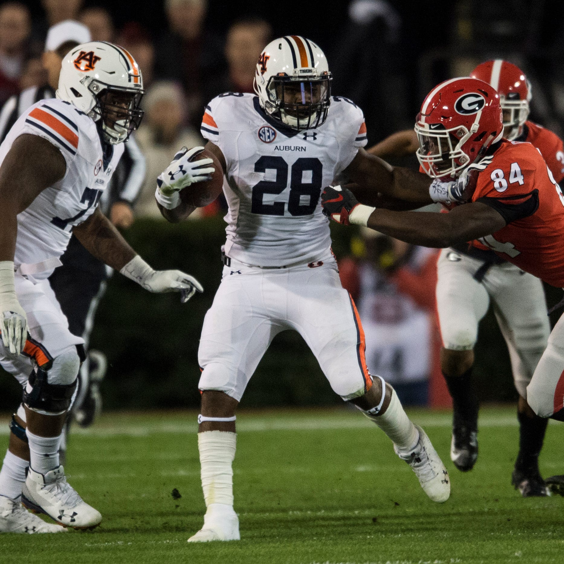 Auburn has preached 'we have to run the football better,' but it hasn't happened yet