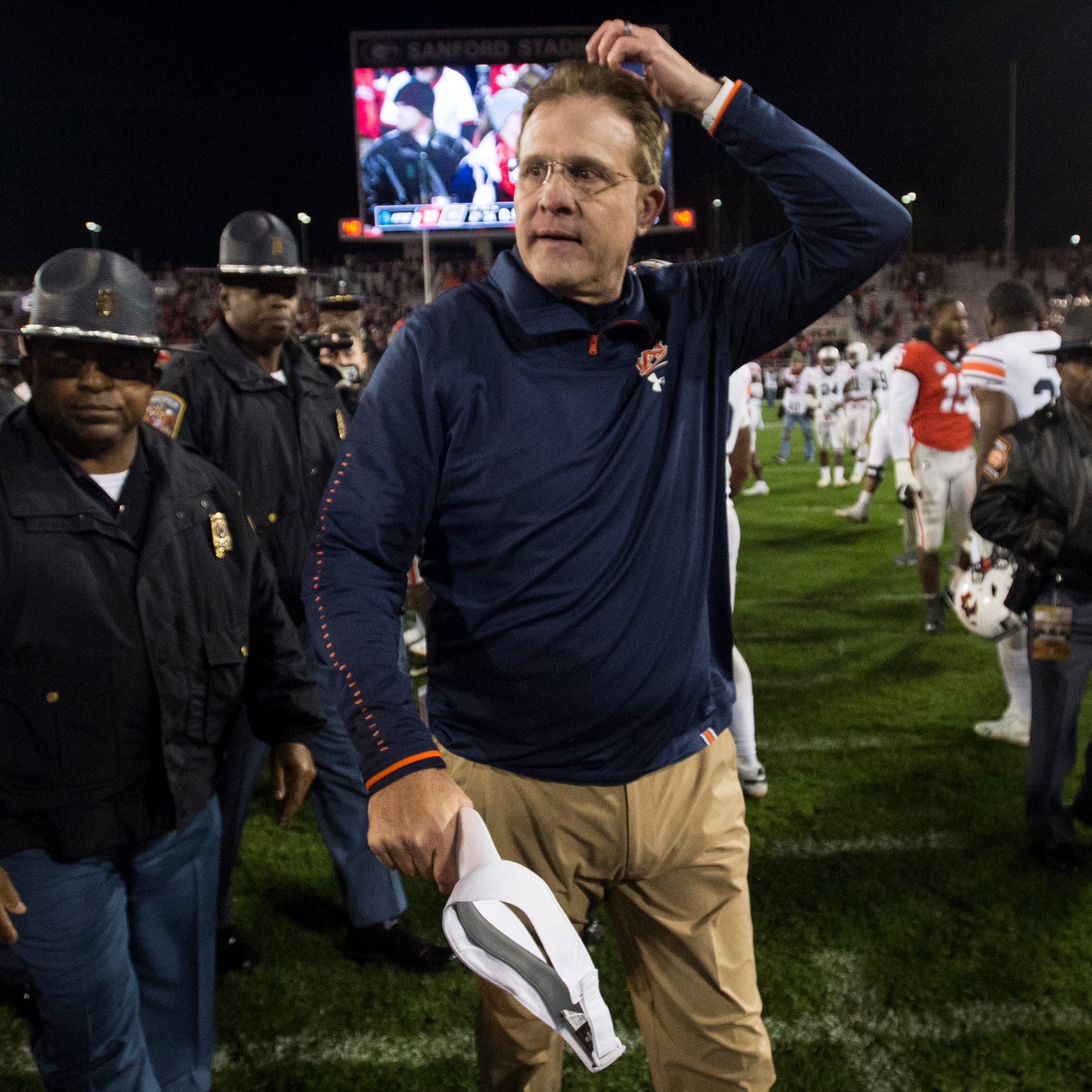 Gus Malzahn's struggles against Auburn's biggest rivals continue in Athens