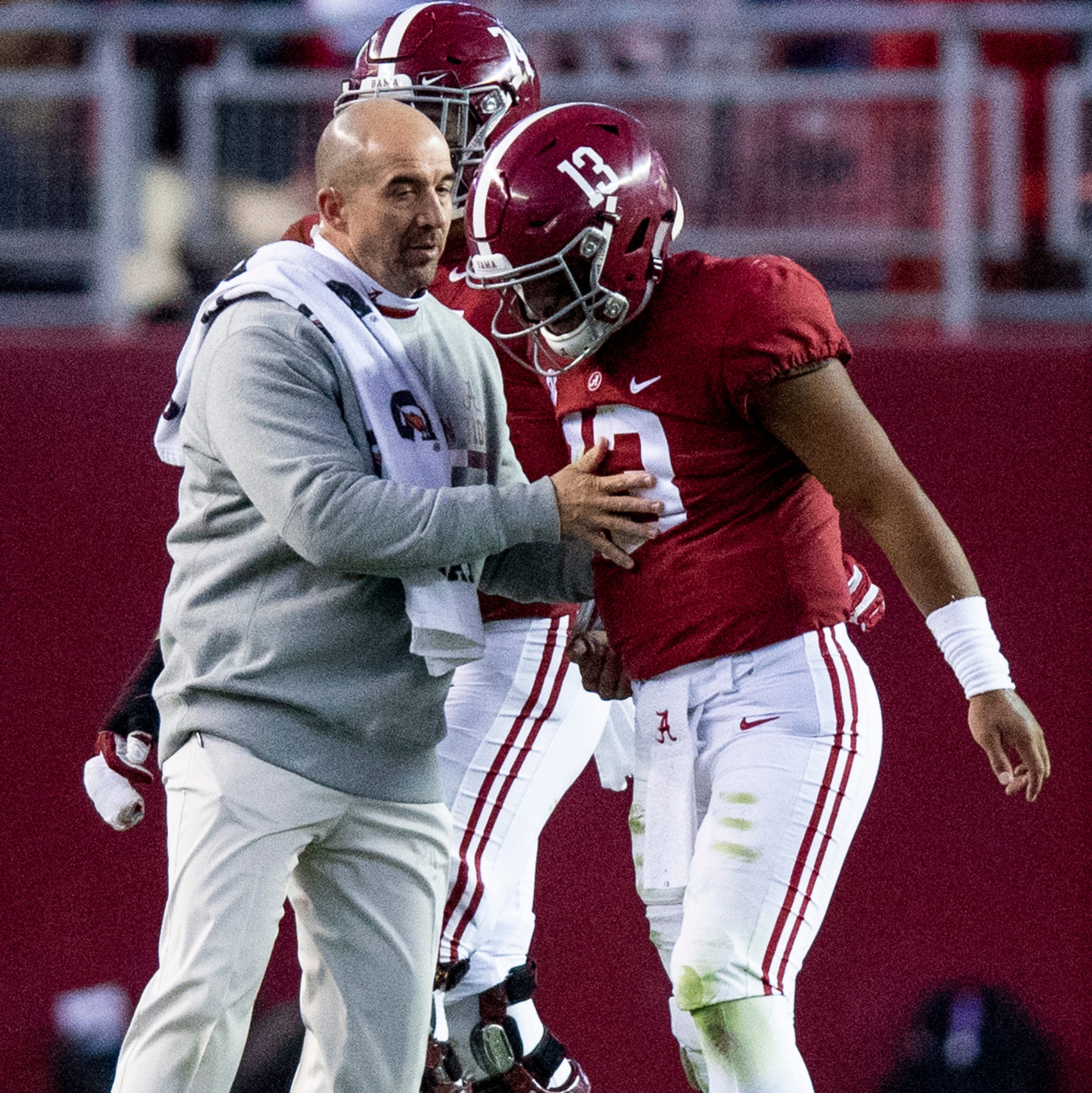 Alabama's Nick Saban has no intention to limit injured star QB Tagovailoa vs. The Citadel