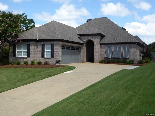 One Wynridge home is for sale for $290,000, and provides four bedrooms and three bathrooms within 2,095 square feet of living space.