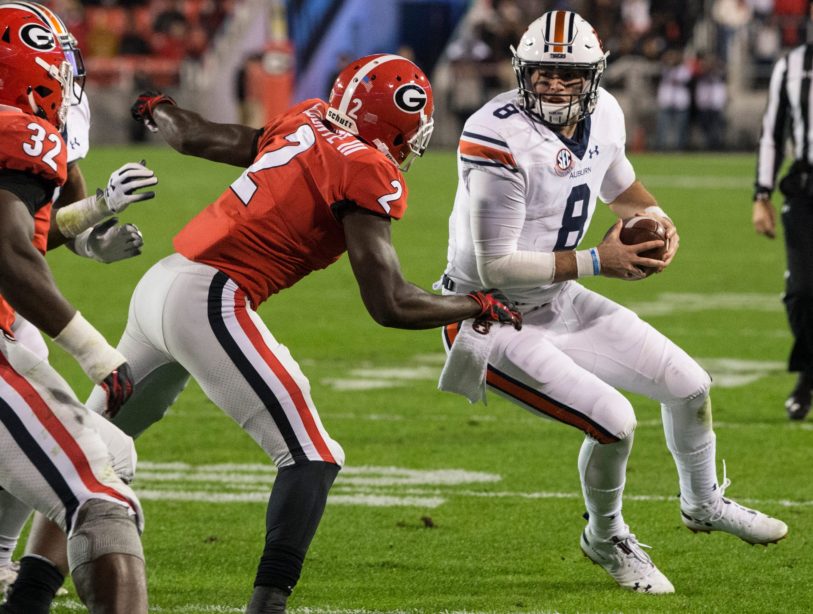 Auburn's rushing offense, defense doom Tigers to another loss in Athens