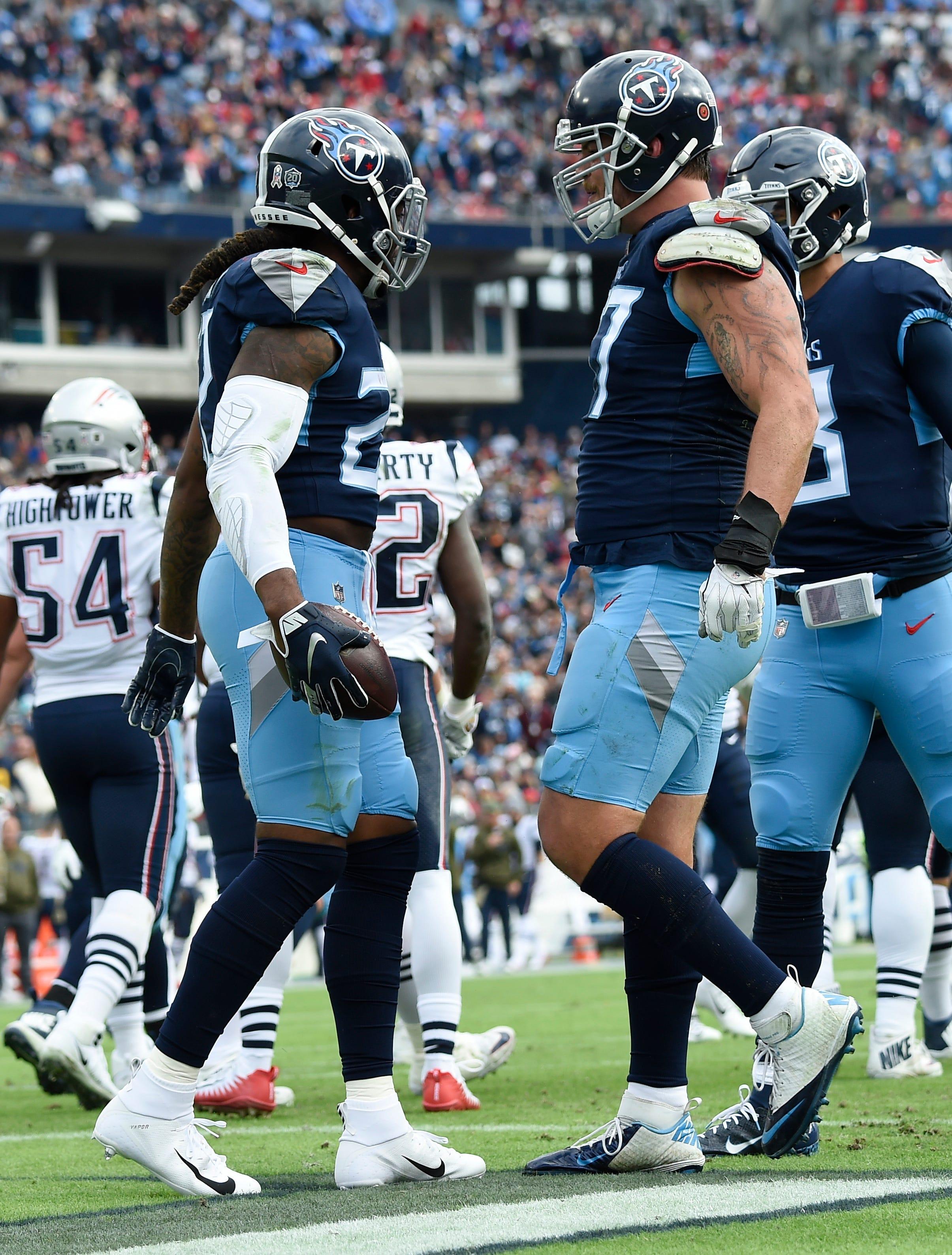 Titans score convincing win against Tom Brady, Patriots