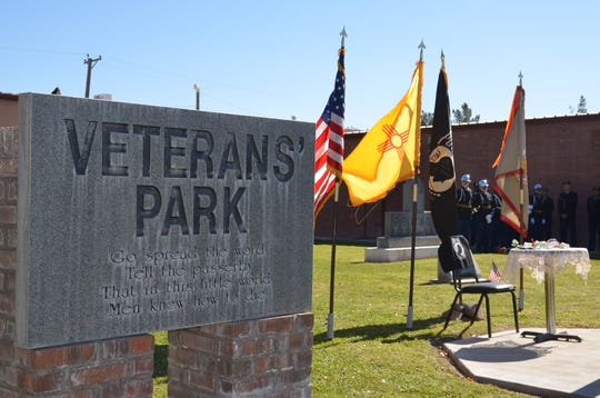 Local veterans across all military branches dedicate a ceremony each year to honor and recognize those who serve the country and its people at Veterans Park.