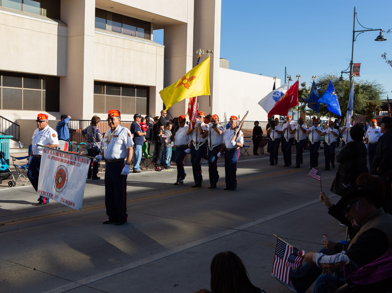 Perro Diablo Det. 478 during the Veterans Day Parade on November 10, 2018.