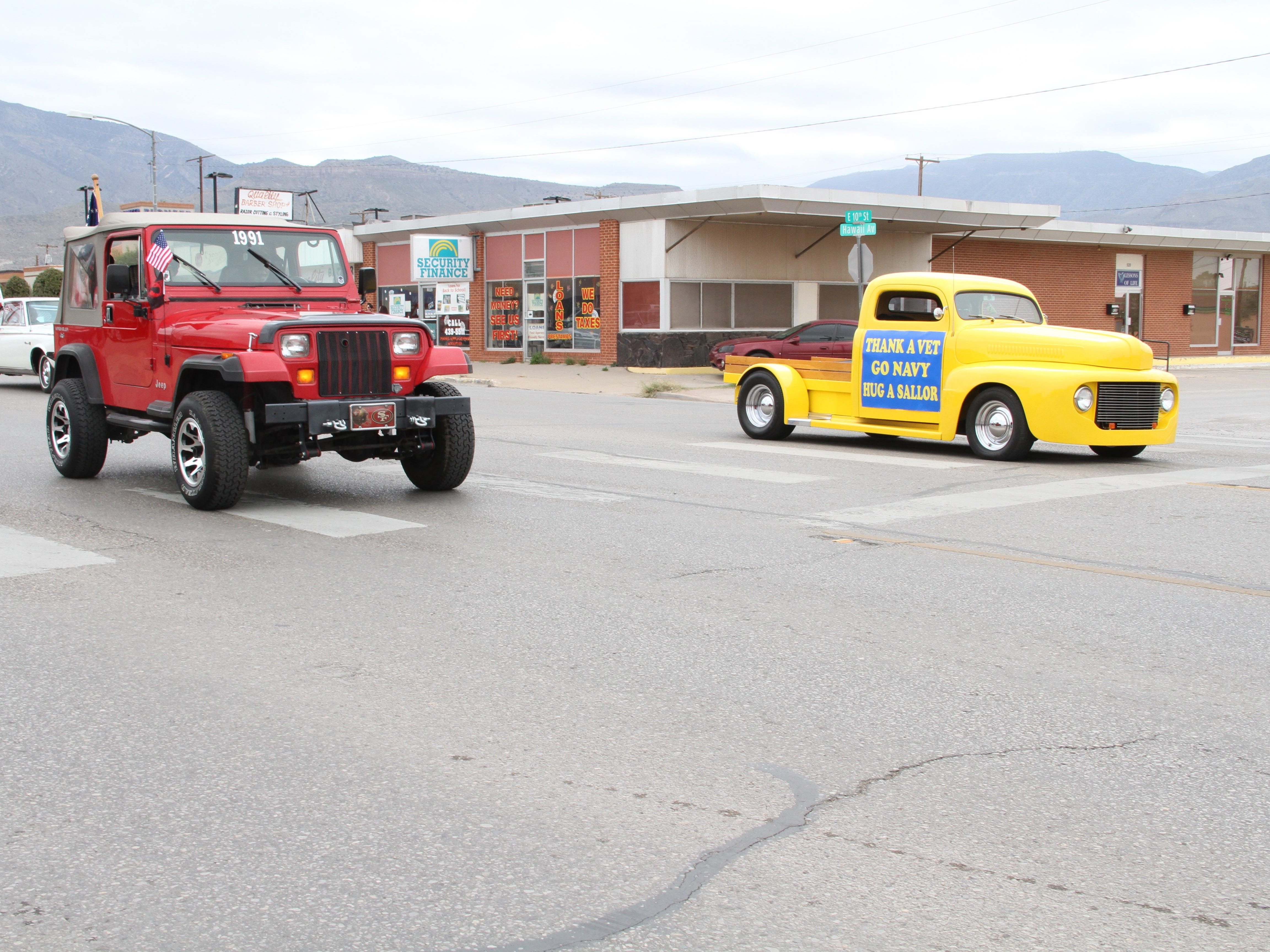 Alamogordo paid tribute to those who served during its Veterans Day Parade Saturday.