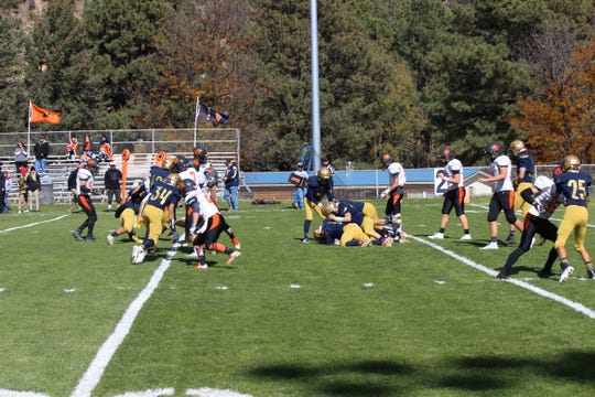Warriors fight hard against the Tigers in first round playoffs.