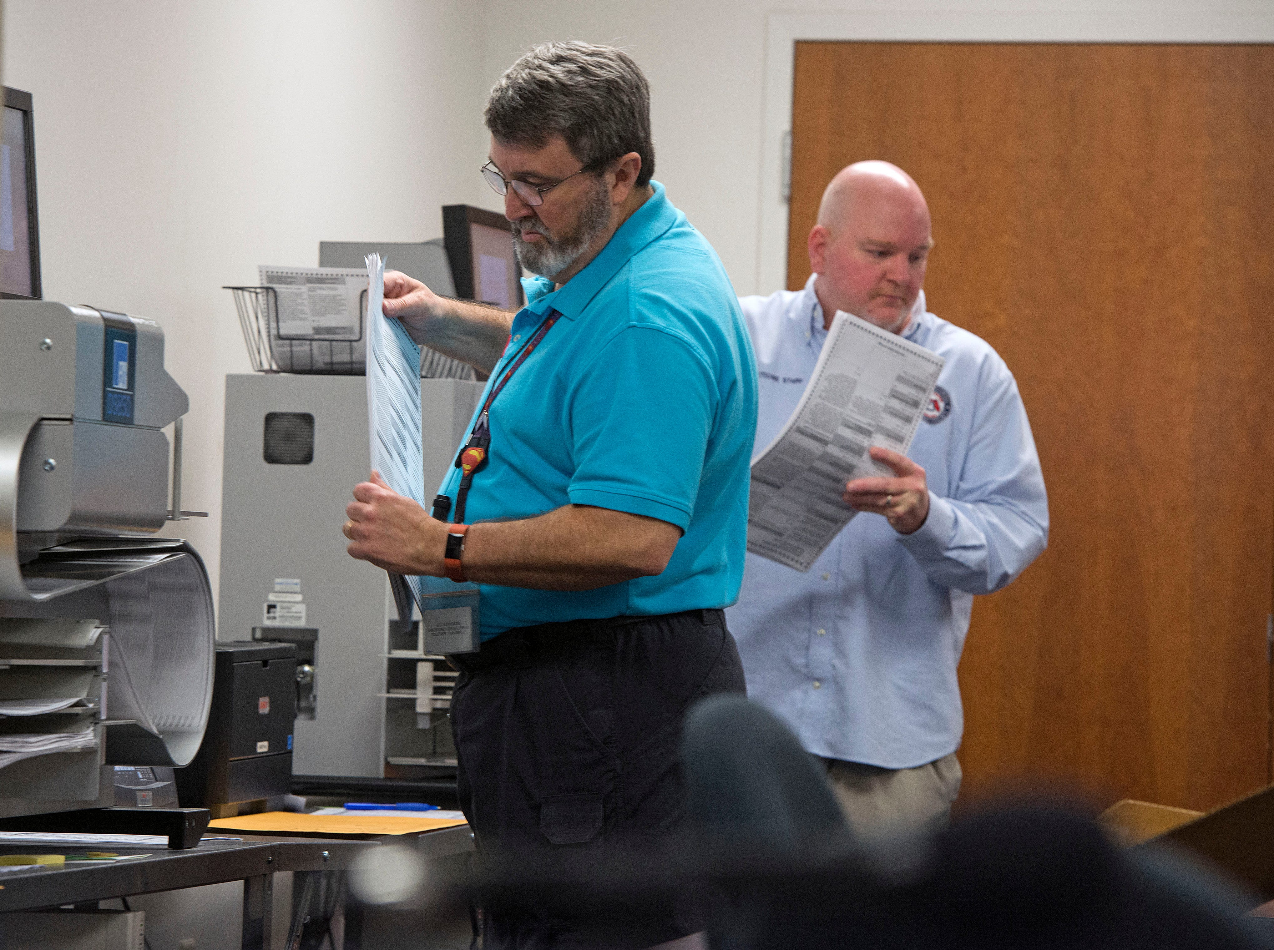 PHOTOS: Escambia County Supervisor of Elections David Stafford starts recount
