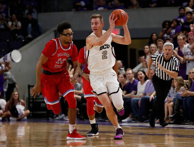 Grand Canyon guard Trey Drechsel (2) keyed the Antelopes' win over Delaware State.