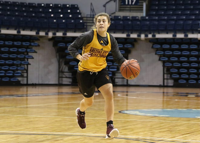 Arizona State freshman guard Jamie Loera is back practicing after a health scare that put her into the hospital and kept her out of ASU's first game.