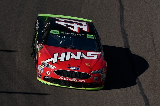Nov 11, 2018; Avondale, AZ, USA; Monster Energy NASCAR Cup Series driver Kurt Busch (41) during the Can-Am 500 at ISM Raceway. Mandatory Credit: Kelvin Kuo-USA TODAY Sports