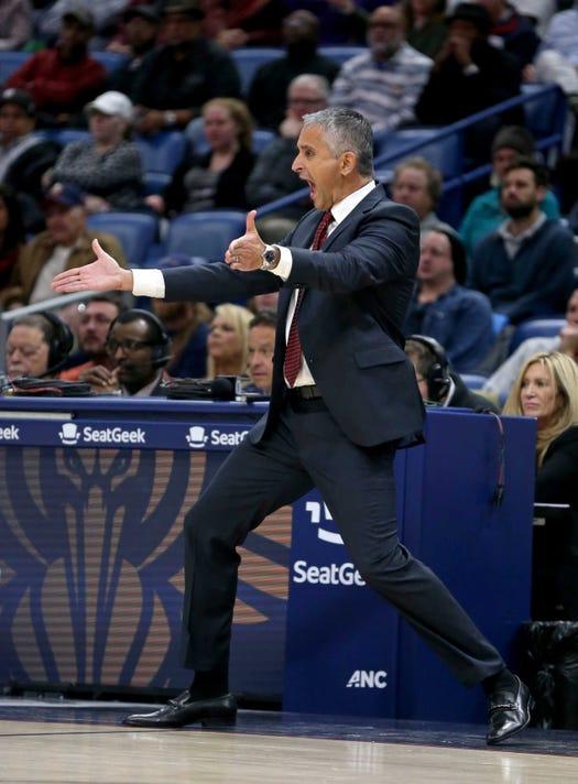 Nba Phoenix Suns At New Orleans Pelicans
