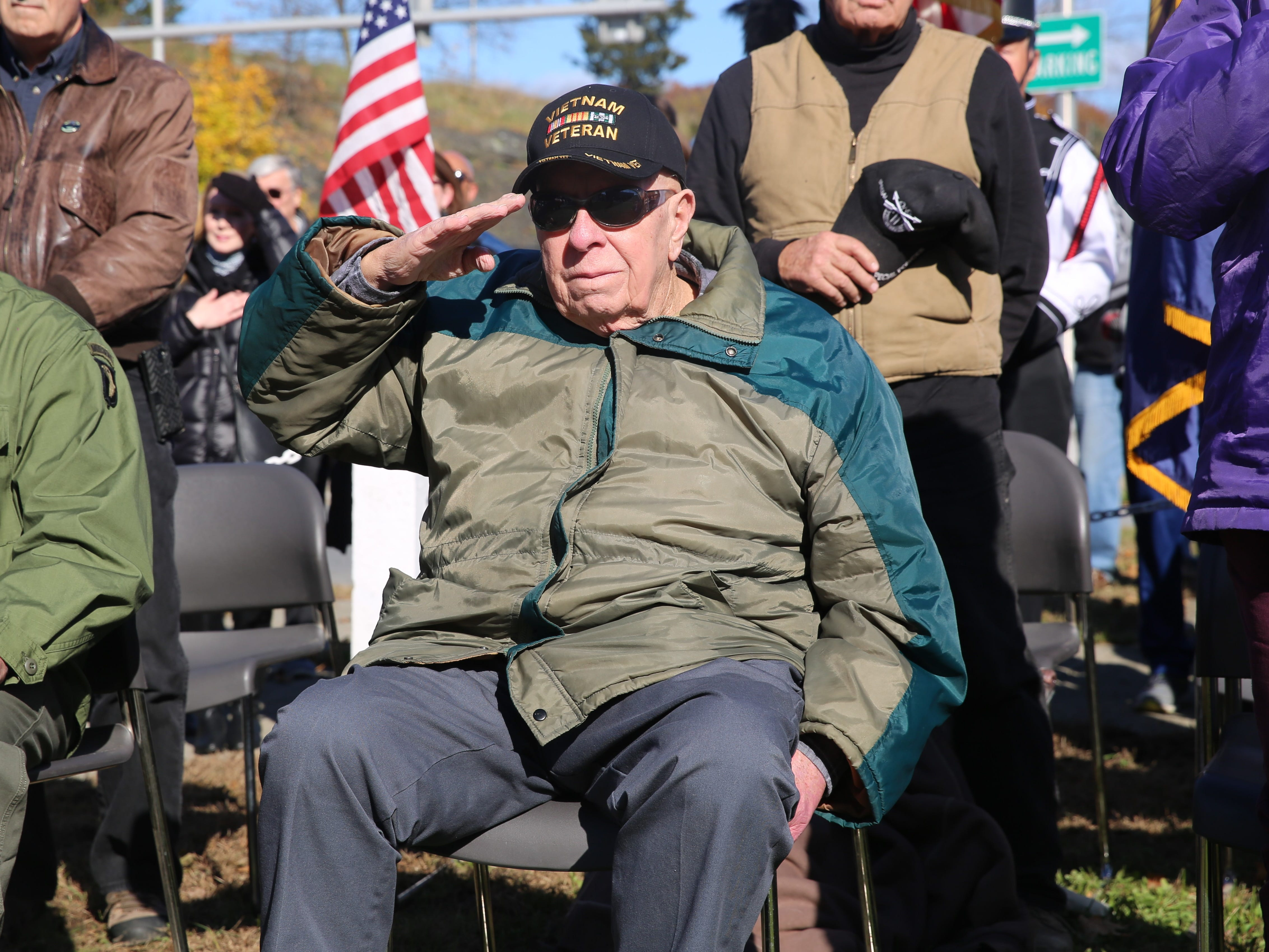 Veterans Day: Hundreds gather at Dutchess County ceremony to tell vets thanks