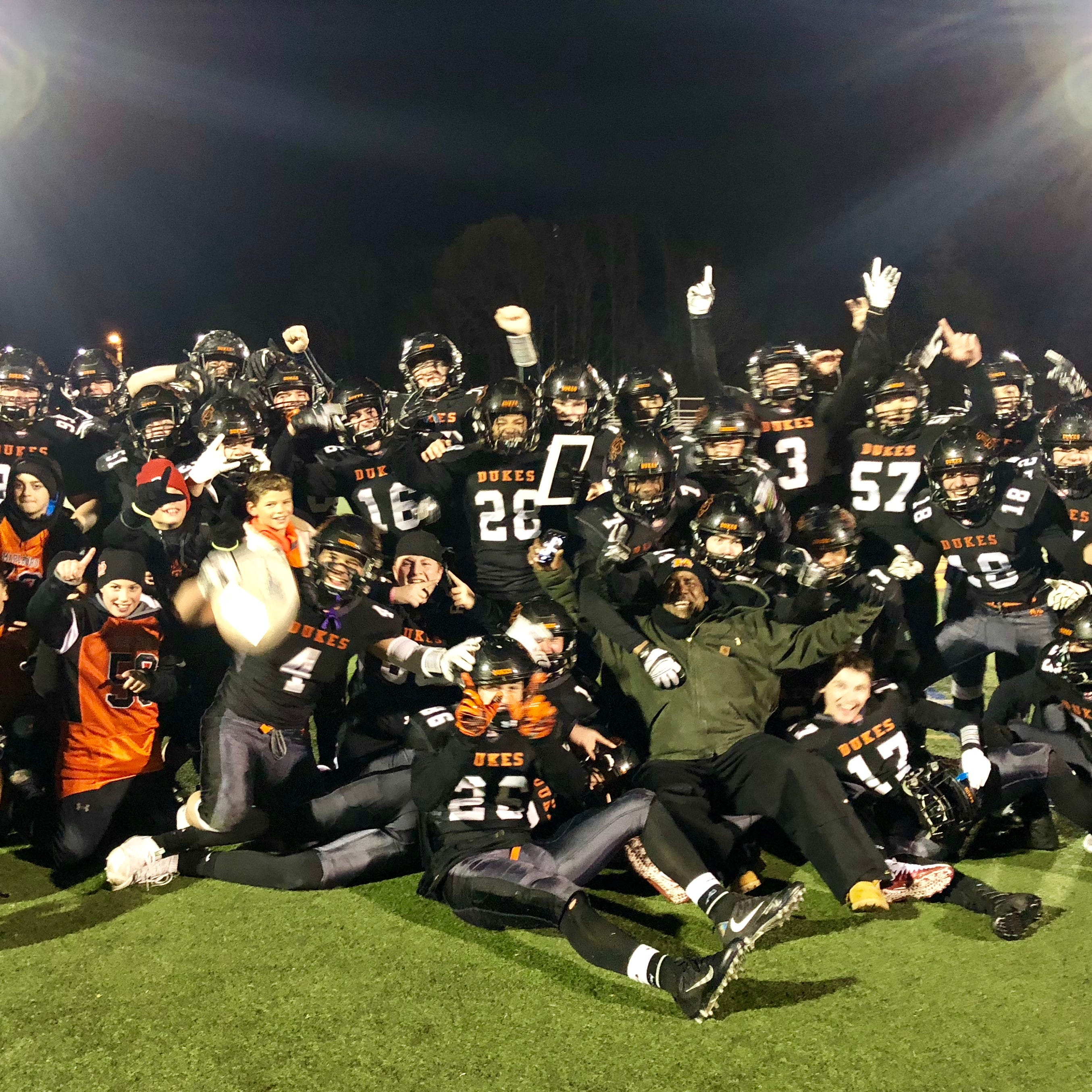Football: Behind O-line, Marlboro powers its way over Ardsley, nabs state final four berth