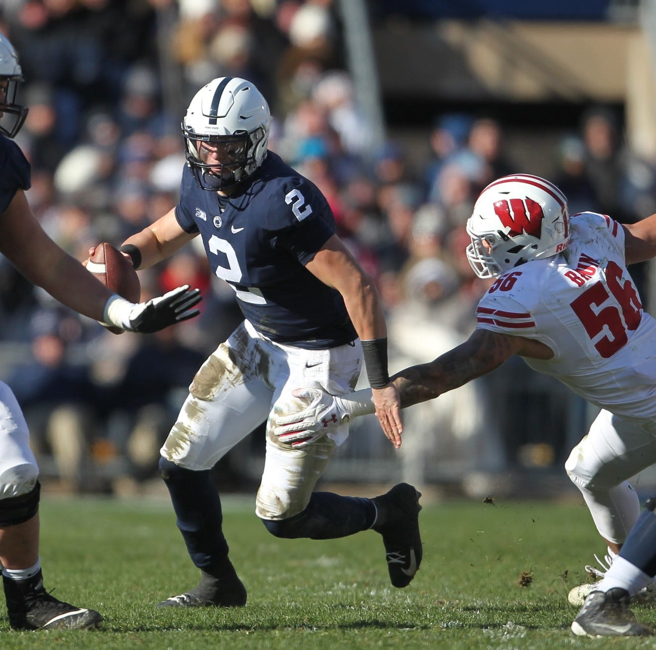 COLLINS: Penn State's convincing win over Wisconsin starts up front with offensive line