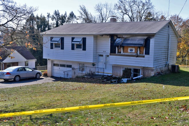 The York County Coroner's office says one person was found deceased in a residential fire in York Township. The fire occurred Saturday night in the 400 block of Chancellor Road. York Area Regional Police are investigating. Sunday, November 11, 2018. John A. Pavoncello photo