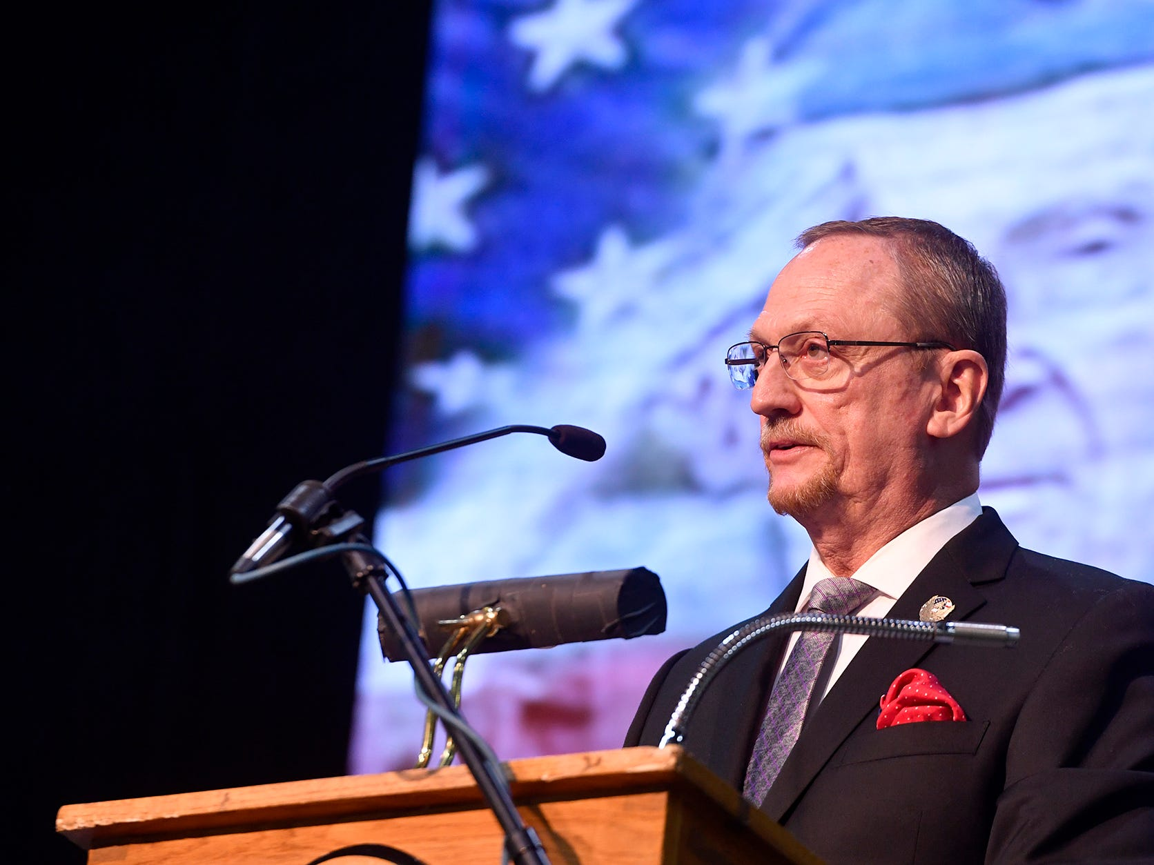 2018 York County Veterans Day Celebration, Sunday, November 11, 2018. John A. Pavoncello photo