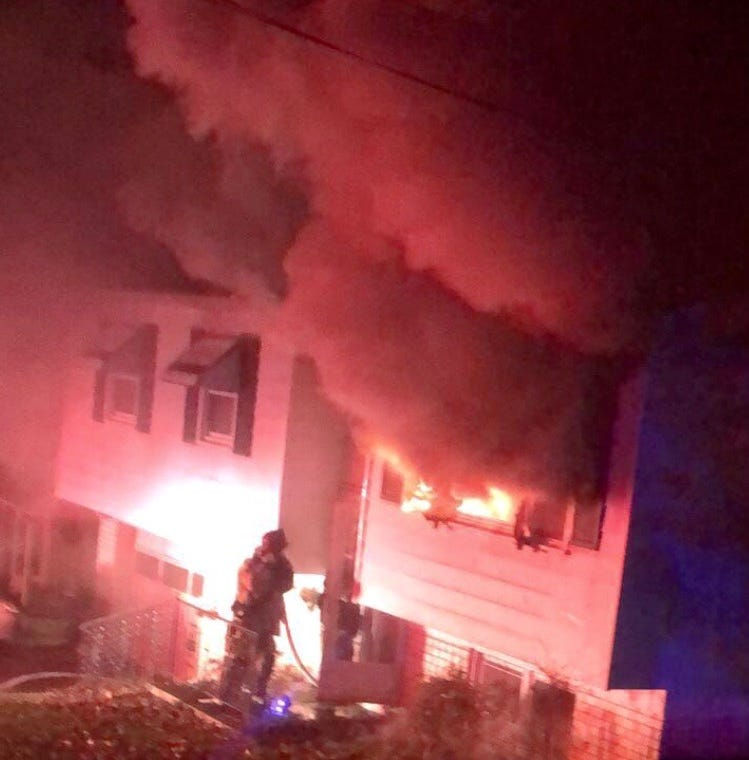 Coroner identifies man who died in York Township house fire Saturday night