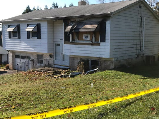 One person died in a fatal fire at this York Township home on Saturday night, according to York County Coroner Pam Gay.