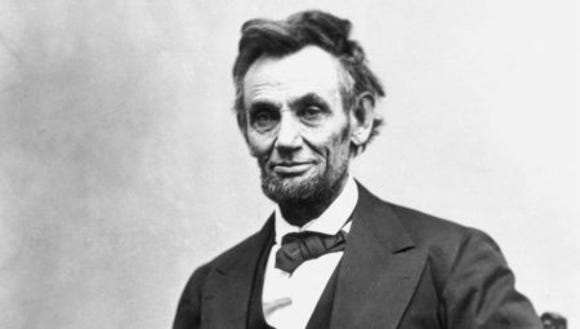 Abraham Lincoln, late in the Civil War.