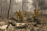 The Camp Fire destroyed most of Paradise, California.